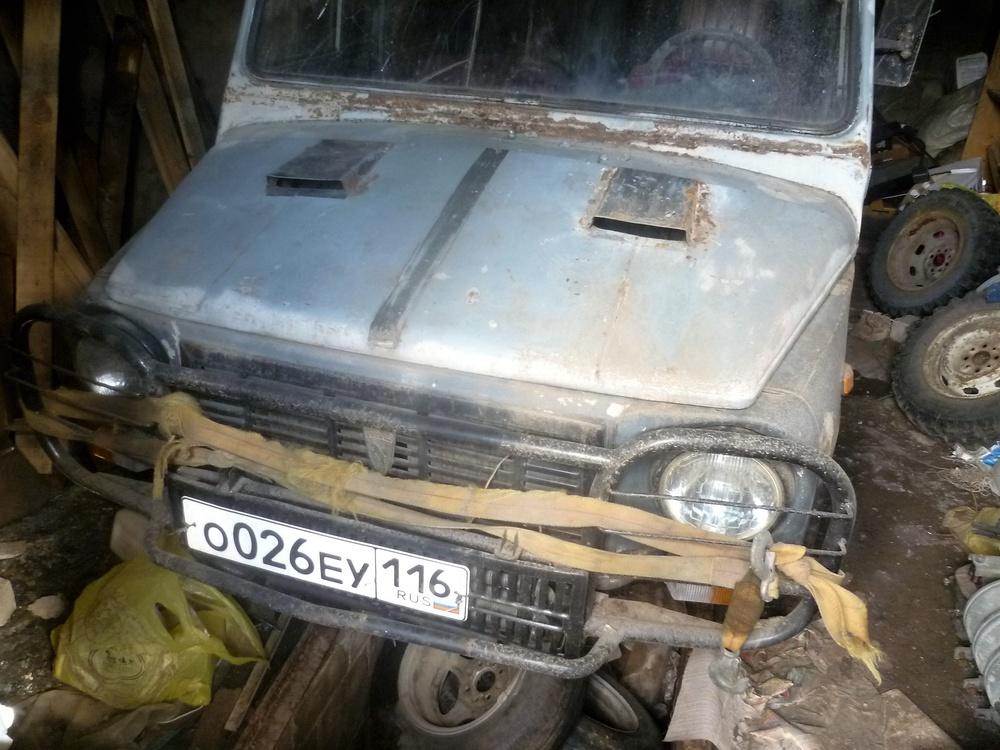 Подержанный ЛуАЗ 969, среднее состояние, белый , 1984 года выпуска, цена 35 000 руб. в республике Татарстане