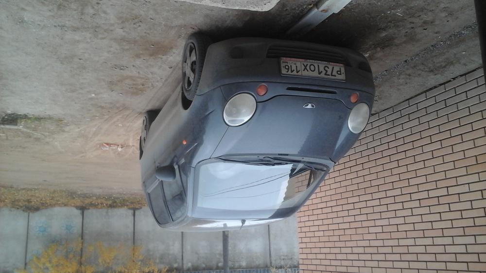 Подержанный Daewoo Matiz, отличное состояние, черный , 2012 года выпуска, цена 180 000 руб. в республике Татарстане