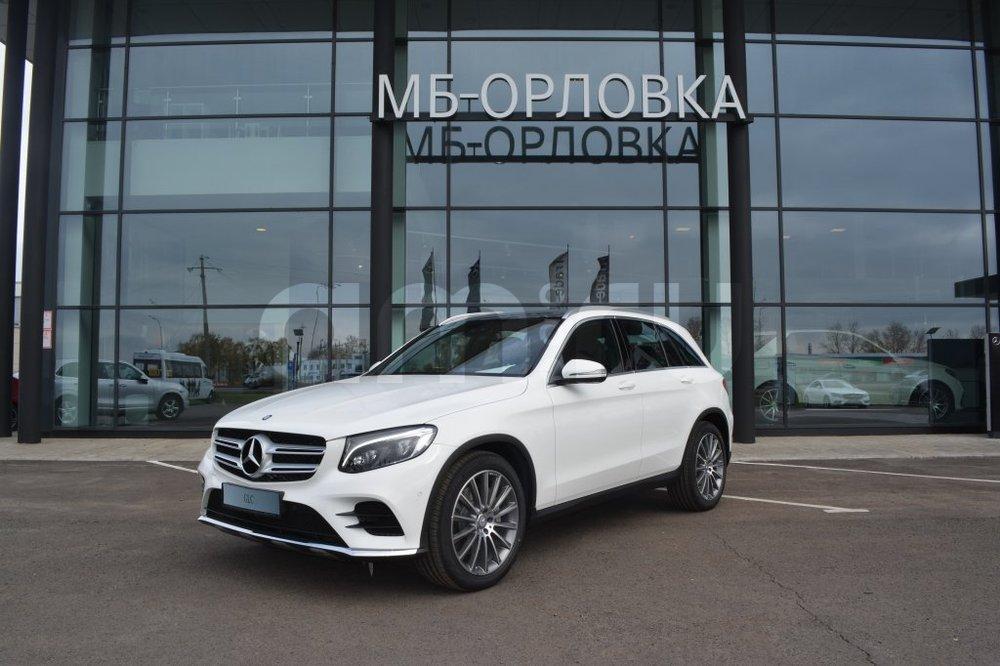 Новый авто Mercedes-Benz GLC-Класс, белый металлик, 2016 года выпуска, цена 3 593 000 руб. в автосалоне МБ-Орловка (Набережные Челны, тракт Мензелинский, д. 24)