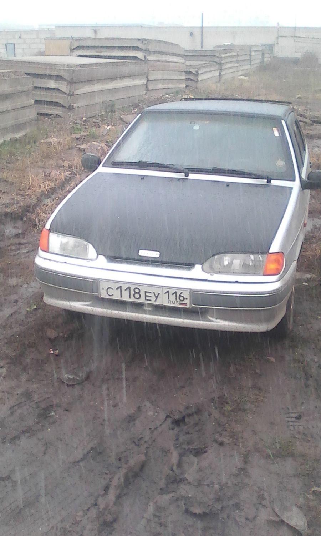 Подержанный ВАЗ (Lada) 2114, хорошее состояние, серебряный , 2004 года выпуска, цена 75 000 руб. в республике Татарстане