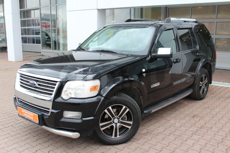 Ford Explorer с пробегом, черный , отличное состояние, 2008 года выпуска, цена 740 000 руб. в автосалоне  ()