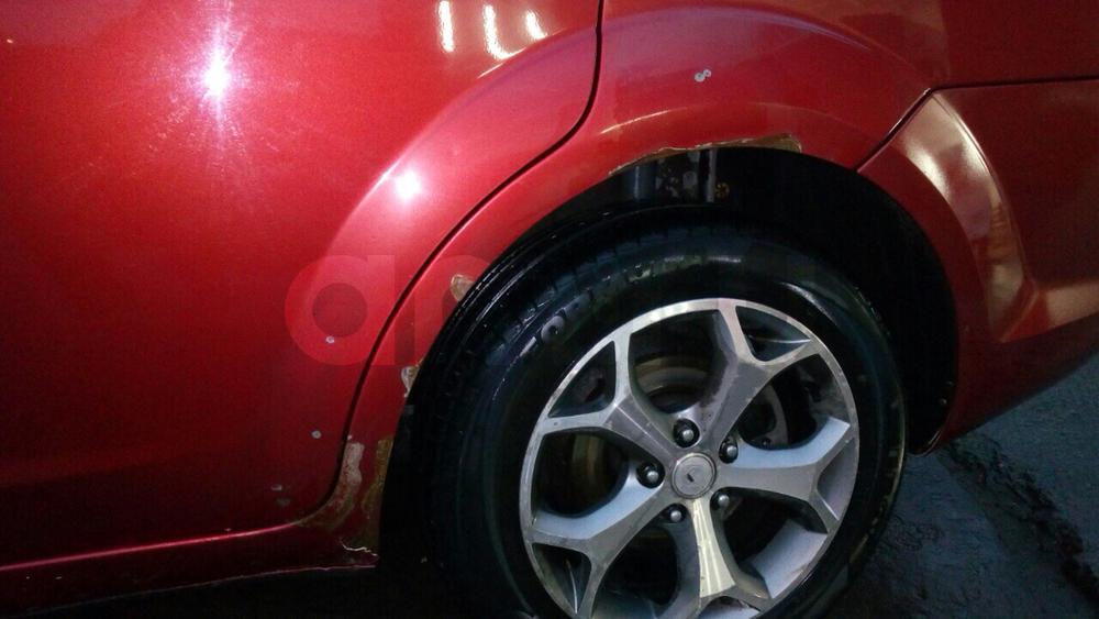 Подержанный Ford Focus, хорошее состояние, красный , 2008 года выпуска, цена 340 000 руб. в ао. Ханты-Мансийском Автономном округе - Югре
