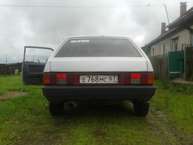 Подержанный ВАЗ (Lada) 2108, хорошее состояние, серебряный , 2001 года выпуска, цена 60 000 руб. в Смоленской области
