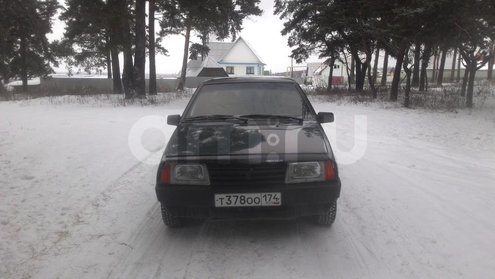 Подержанный ВАЗ (Lada) 2109, хорошее состояние, зеленый , 1999 года выпуска, цена 52 000 руб. в Челябинской области