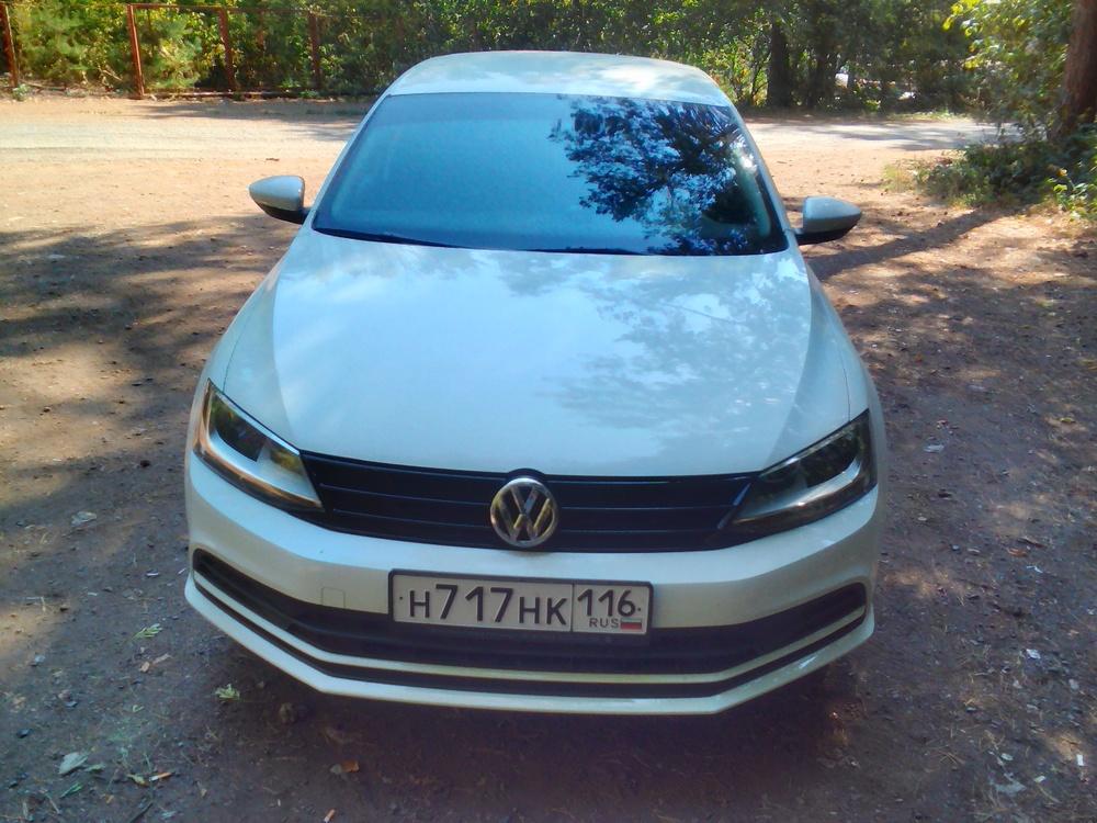 Подержанный Volkswagen Jetta, отличное состояние, белый , 2016 года выпуска, цена 765 000 руб. в республике Татарстане