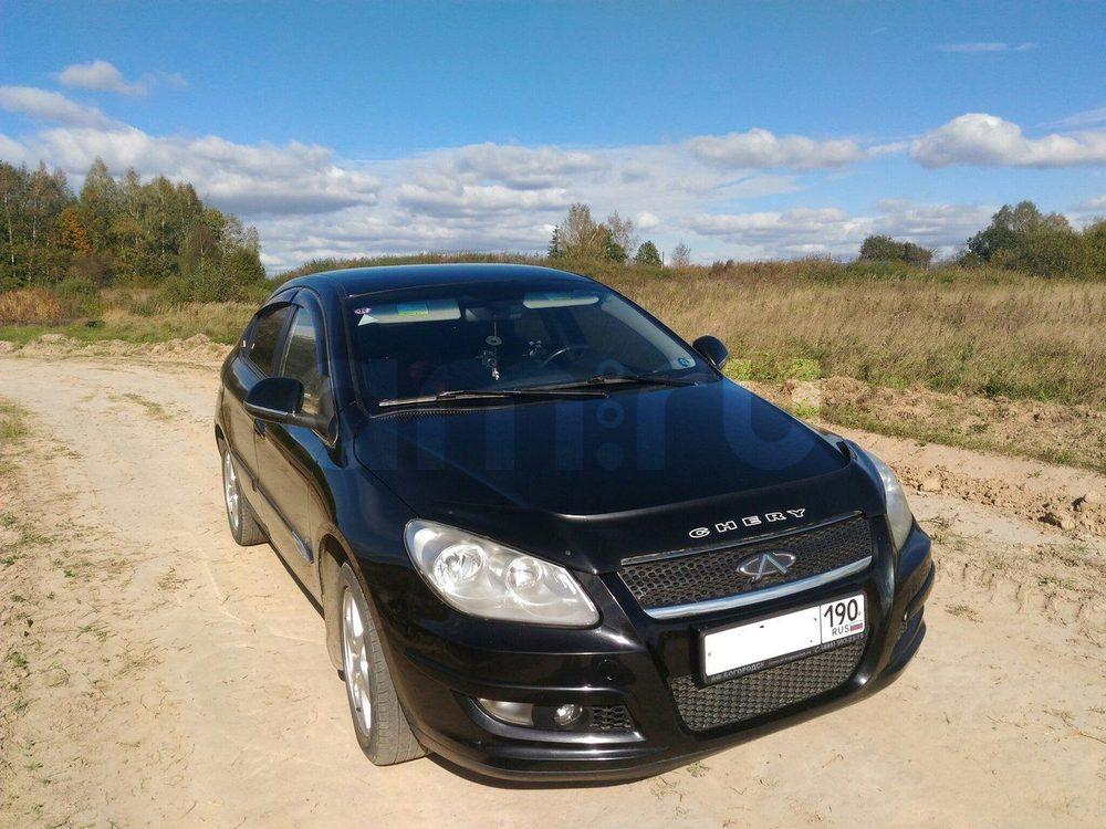 Подержанный Chery M11, хорошее состояние, черный , 2010 года выпуска, цена 265 000 руб. в Смоленской области