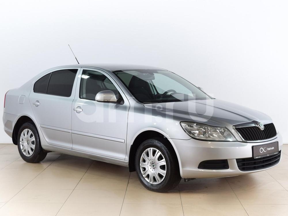 Skoda Octavia с пробегом, серебряный , отличное состояние, 2010 года выпуска, цена 499 000 руб. в автосалоне  ()