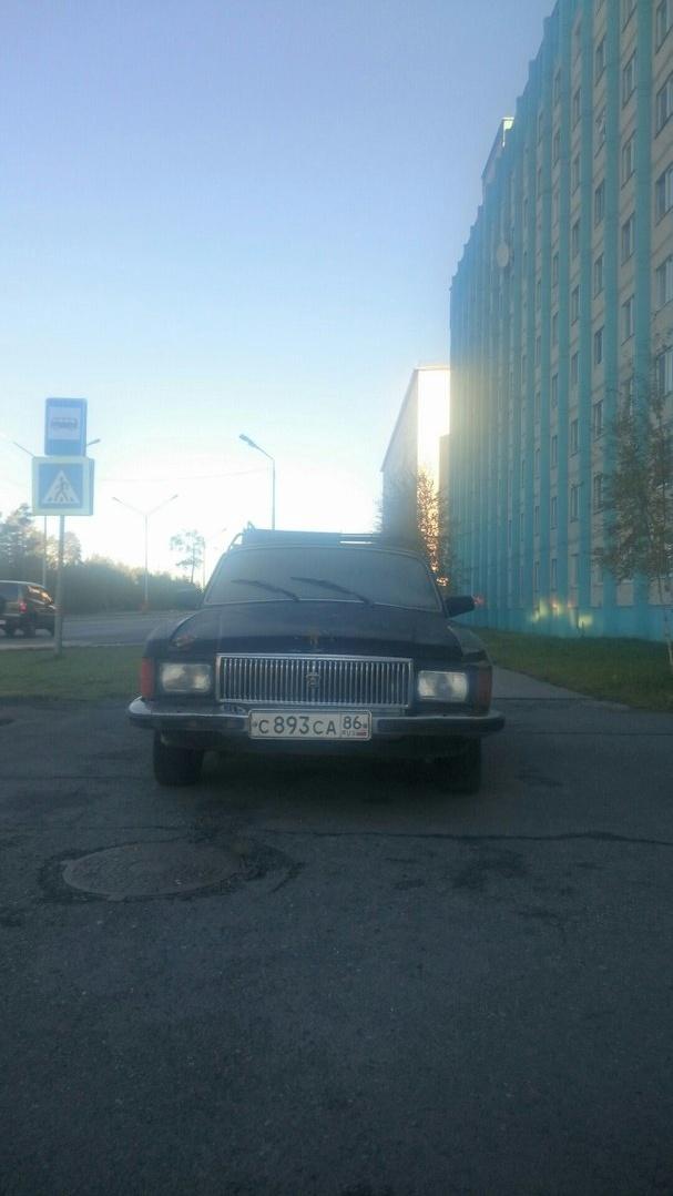 Подержанный ГАЗ 3102 Волга, хорошее состояние, черный , 1995 года выпуска, цена 30 000 руб. в ао. Ханты-Мансийском Автономном округе - Югре