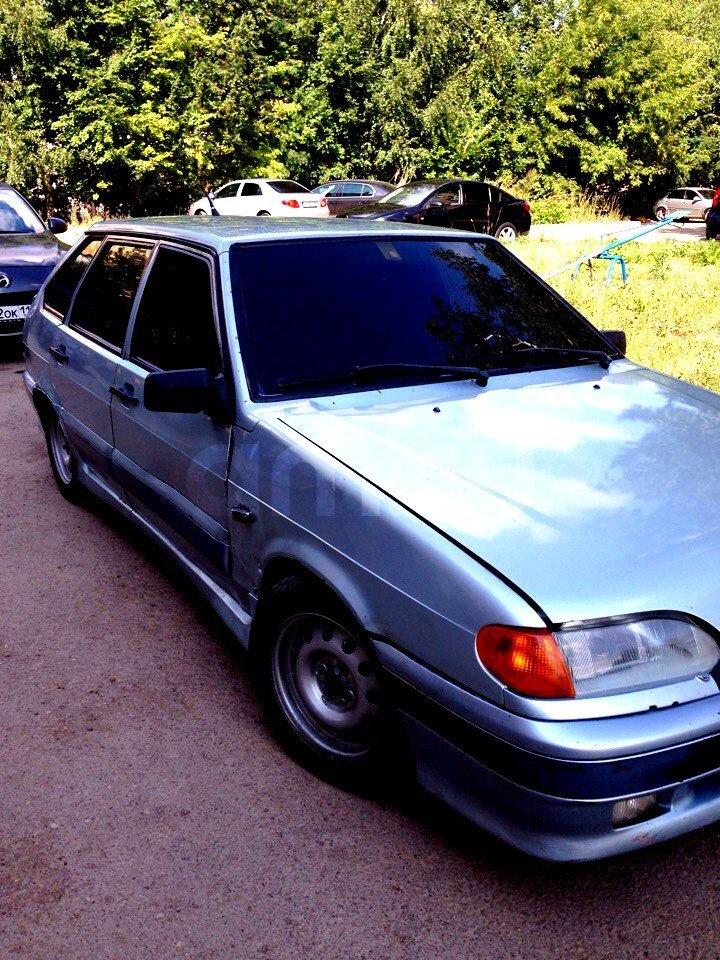 Подержанный ВАЗ (Lada) 2114, хорошее состояние, серебряный , 2003 года выпуска, цена 45 000 руб. в республике Татарстане