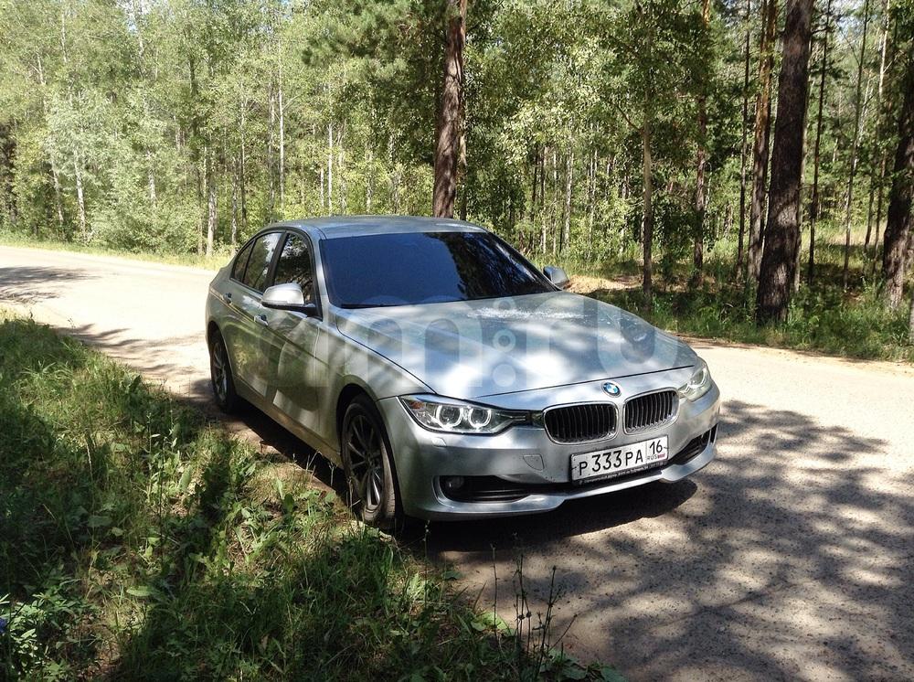 Подержанный BMW 3 серия, отличное состояние, серебряный металлик, 2013 года выпуска, цена 930 000 руб. в республике Татарстане