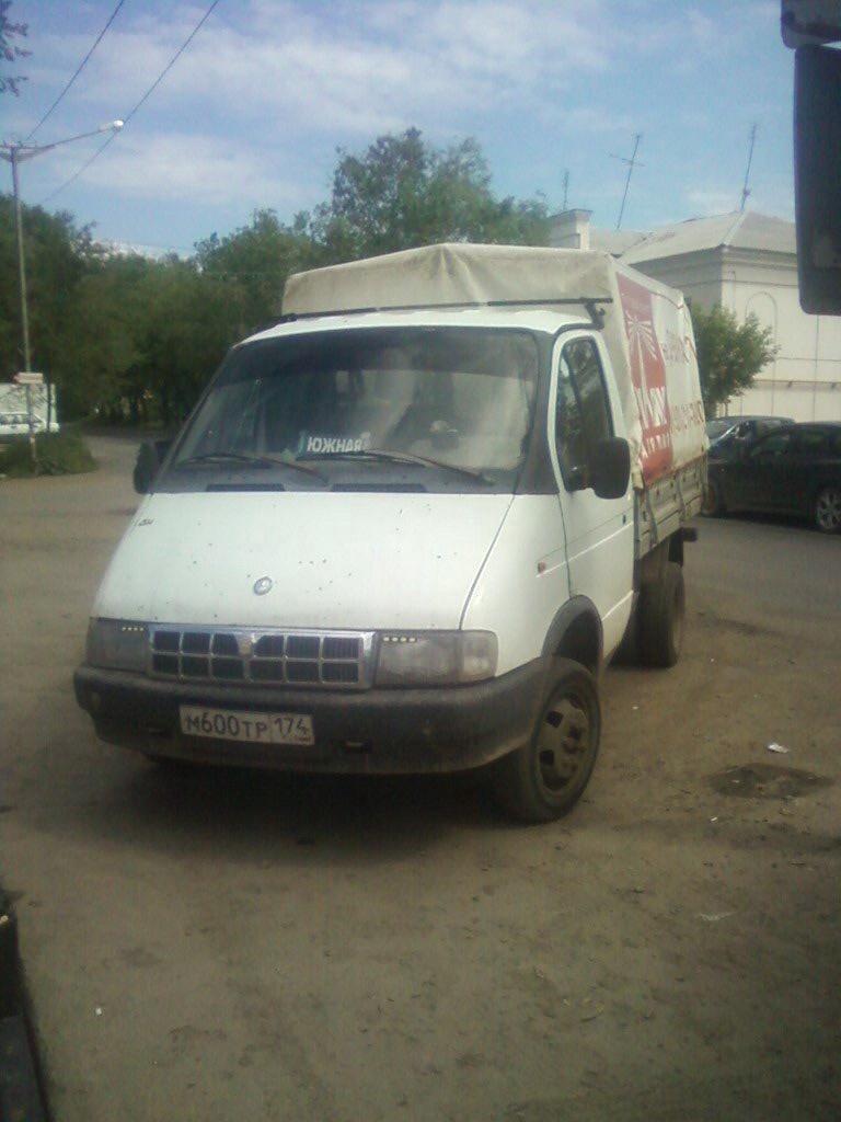 Подержанный ГАЗ Газель, хорошее состояние, белый , 2002 года выпуска, цена 115 000 руб. в Челябинской области