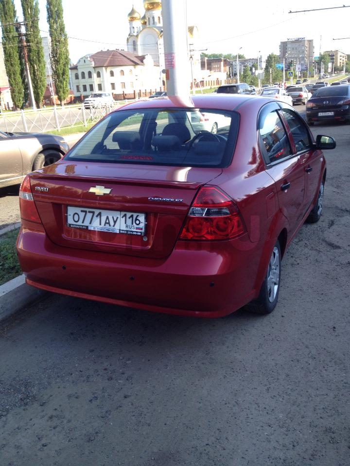 Подержанный Chevrolet Aveo, отличное состояние, вишневый металлик, 2011 года выпуска, цена 299 990 руб. в республике Татарстане