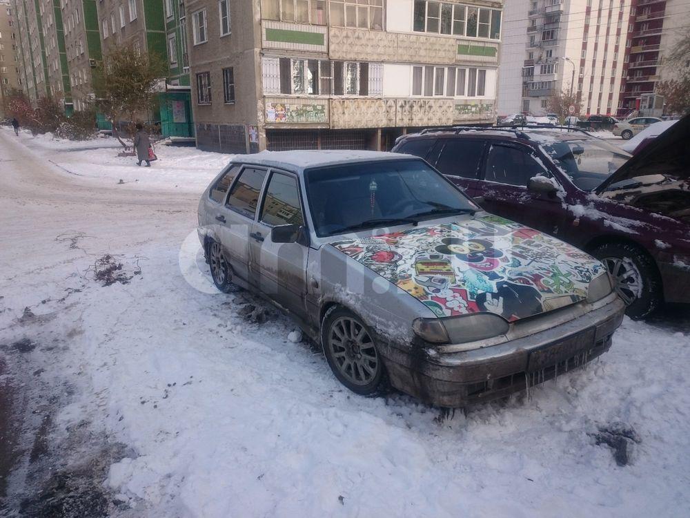 Подержанный ВАЗ (Lada) 2114, отличное состояние, серебряный металлик, 2008 года выпуска, цена 125 900 руб. в Челябинской области