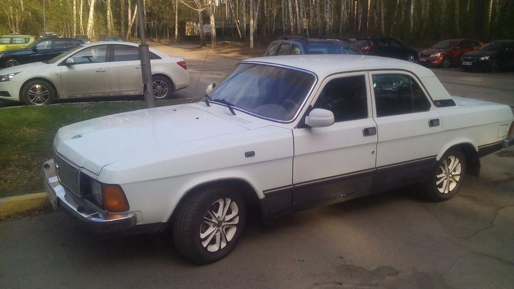 Подержанный ГАЗ 3102 Волга, хорошее состояние, белый , 2001 года выпуска, цена 59 999 руб. в Челябинской области