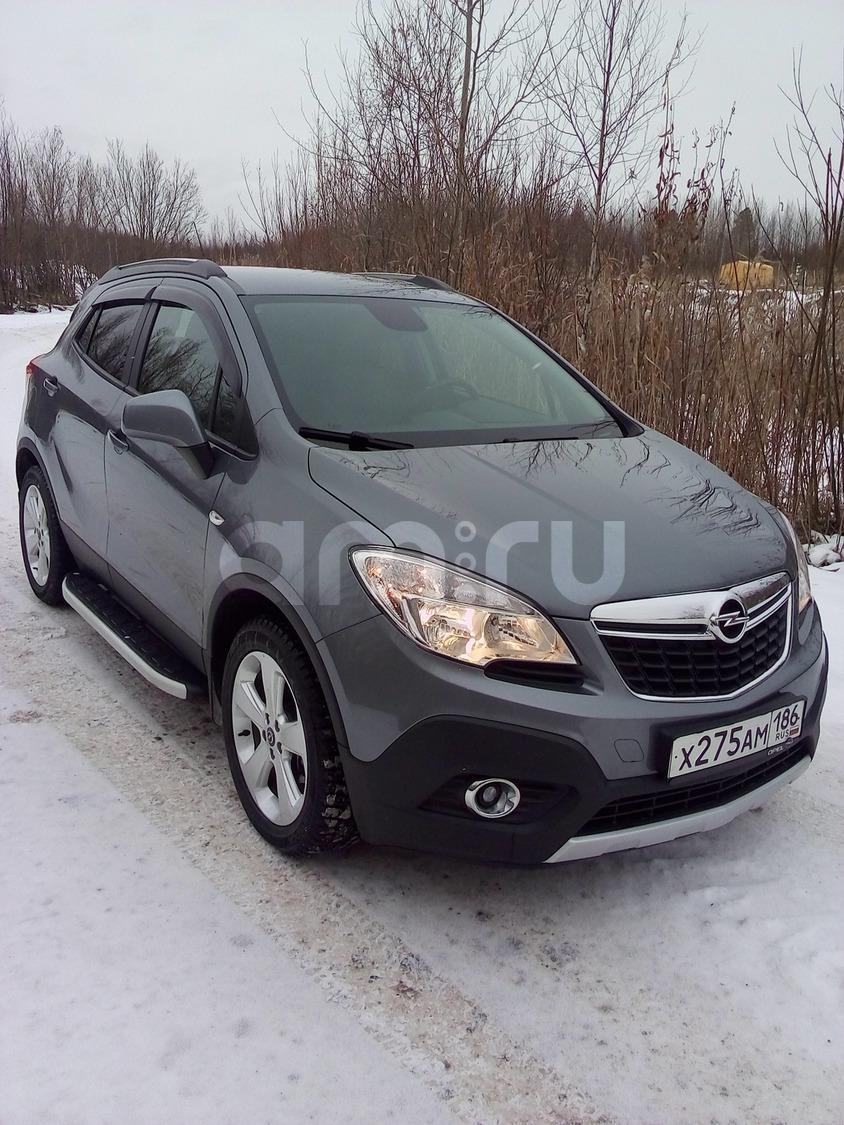 Подержанный Opel Mokka, отличное состояние, серый , 2014 года выпуска, цена 980 000 руб. в ао. Ханты-Мансийском Автономном округе - Югре