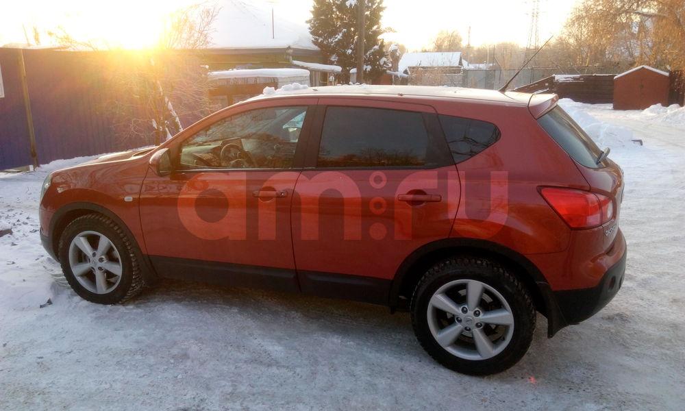 Подержанный Nissan Qashqai, отличное состояние, красный металлик, 2007 года выпуска, цена 570 000 руб. в ао. Ханты-Мансийском Автономном округе - Югре