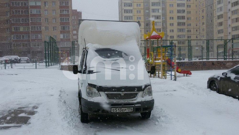 Подержанный ГАЗ Газель, хорошее состояние, белый , 2004 года выпуска, цена 255 000 руб. в Челябинской области