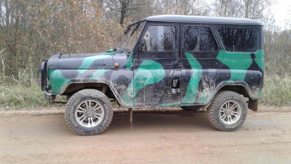 Подержанный УАЗ 469, хорошее состояние, зеленый , 1975 года выпуска, цена 125 000 руб. в Смоленской области