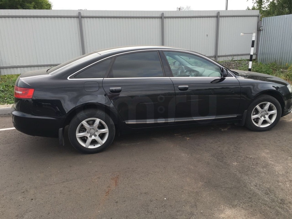 Подержанный Audi A6, хорошее состояние, черный , 2010 года выпуска, цена 750 000 руб. в республике Татарстане