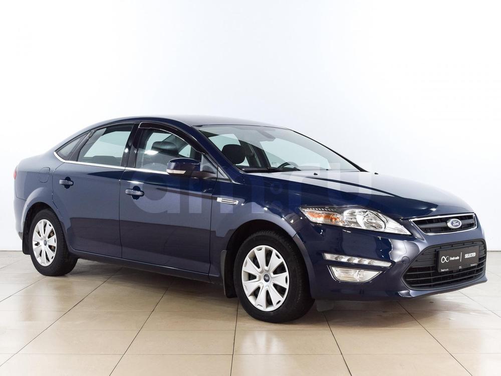 Ford Mondeo с пробегом, синий , отличное состояние, 2011 года выпуска, цена 609 000 руб. в автосалоне  ()