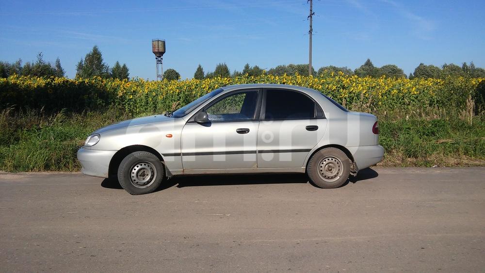 Подержанный ЗАЗ Sens, среднее состояние, серебряный , 2007 года выпуска, цена 95 000 руб. в Смоленской области