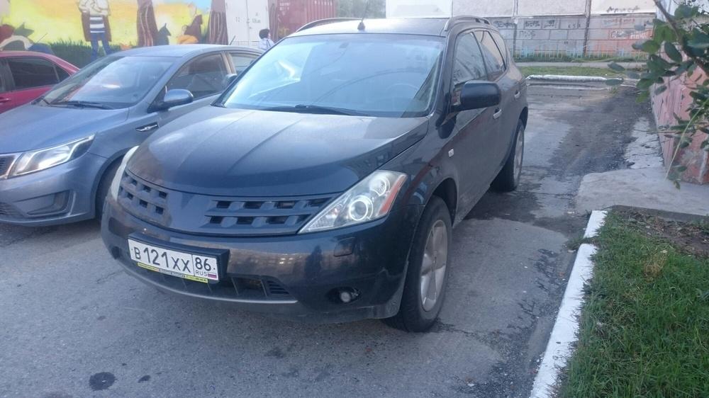 Подержанный Nissan Murano, хорошее состояние, черный , 2007 года выпуска, цена 575 000 руб. в ао. Ханты-Мансийском Автономном округе - Югре