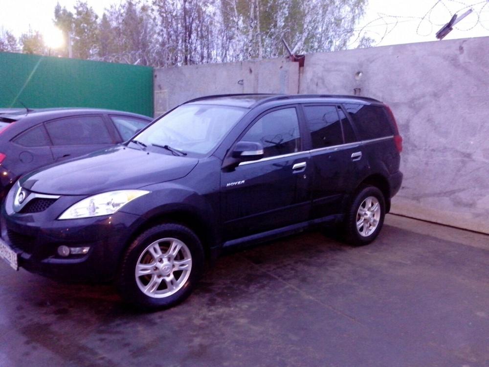 Подержанный Great Wall H5, хорошее состояние, черный металлик, 2012 года выпуска, цена 590 000 руб. в республике Татарстане