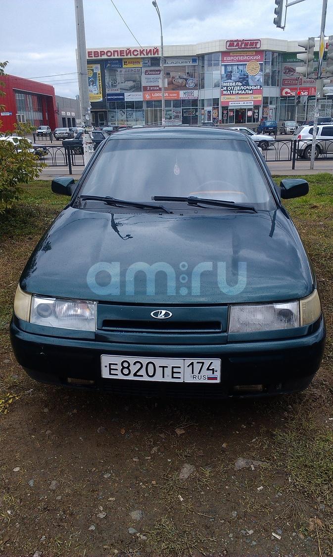 Подержанный ВАЗ (Lada) 2112, среднее состояние, зеленый , 2004 года выпуска, цена 85 000 руб. в Челябинской области