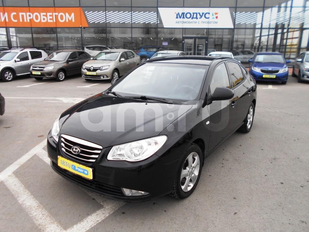 Hyundai Elantra с пробегом, черный , отличное состояние, 2010 года выпуска, цена 440 000 руб. в автосалоне  ()