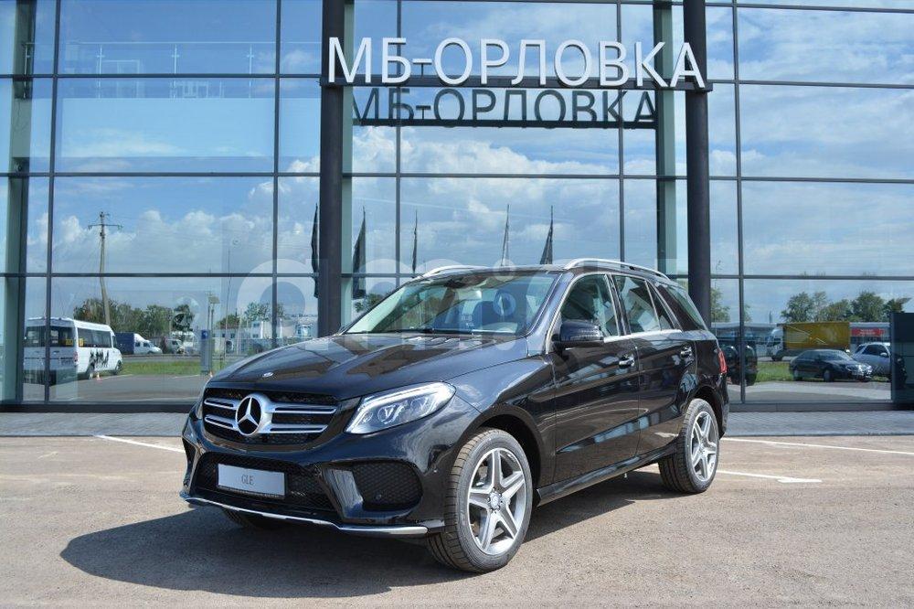 Новый авто Mercedes-Benz GLE-Класс, черный металлик, 2016 года выпуска, цена 4 620 000 руб. в автосалоне МБ-Орловка (Набережные Челны, тракт Мензелинский, д. 24)
