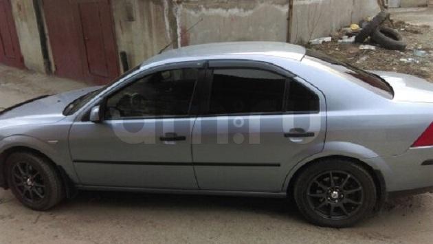Подержанный Ford Mondeo, отличное состояние, голубой , 2003 года выпуска, цена 270 000 руб. в Челябинской области
