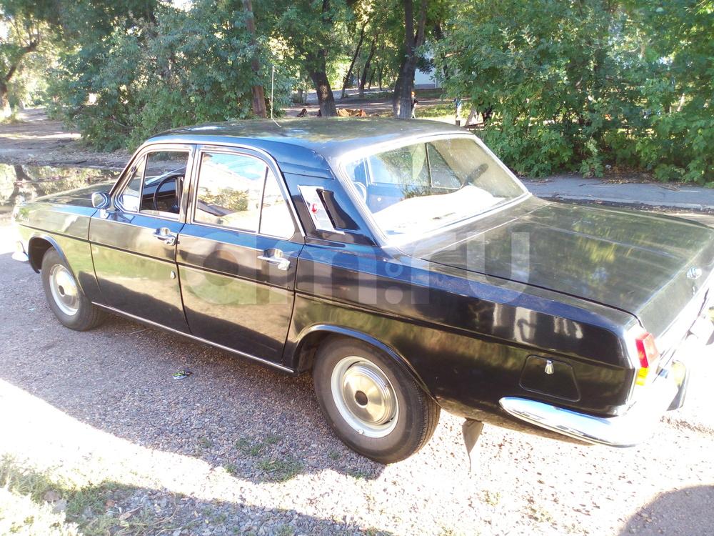 Подержанный ГАЗ 24 Волга, отличное состояние, черный , 1983 года выпуска, цена 350 000 руб. в Челябинской области