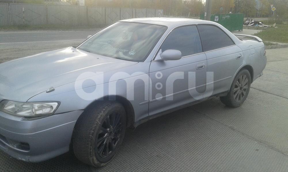 Подержанный Toyota Mark II, хорошее состояние, серебряный , 1995 года выпуска, цена 160 000 руб. в ао. Ханты-Мансийском Автономном округе - Югре