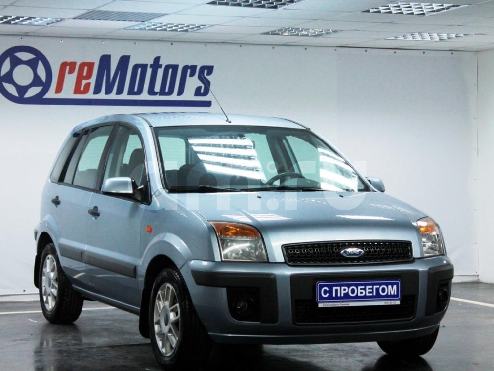 Ford Fusion с пробегом, голубой , отличное состояние, 2009 года выпуска, цена 280 000 руб. в автосалоне  ()