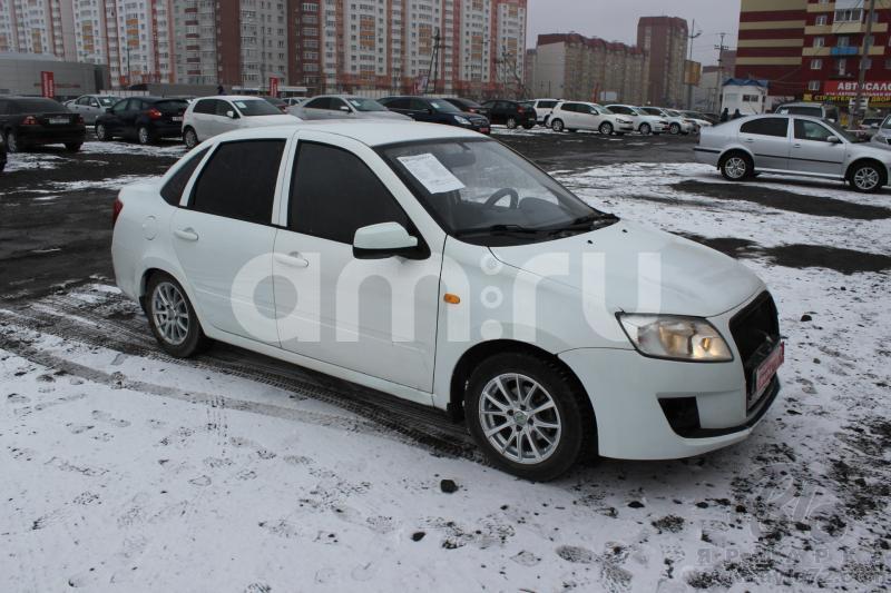 ВАЗ (Lada) Granta с пробегом, белый , хорошее состояние, 2012 года выпуска, цена 239 000 руб. в автосалоне  ()