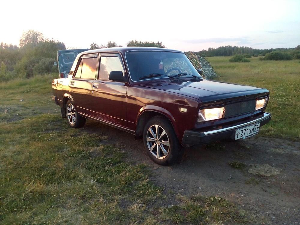 Подержанный ВАЗ (Lada) 2105, отличное состояние, коричневый металлик, 2006 года выпуска, цена 45 000 руб. в Челябинской области
