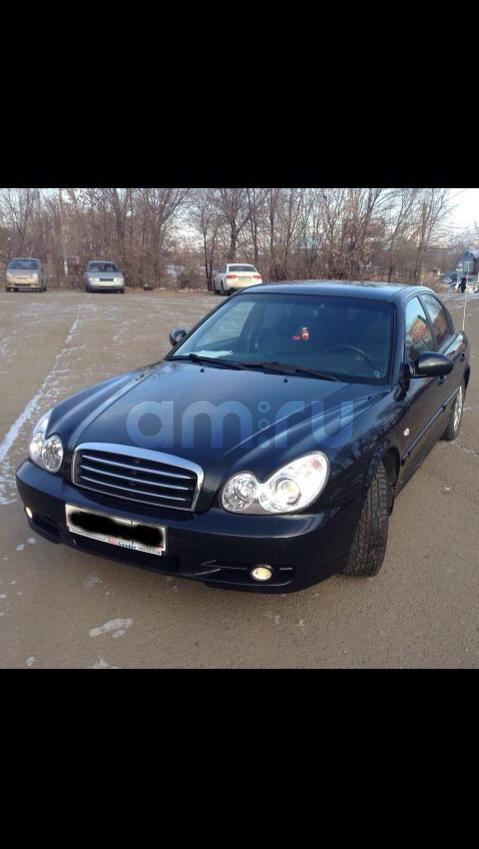 Подержанный Hyundai Sonata, отличное состояние, черный , 2011 года выпуска, цена 520 000 руб. в Челябинской области