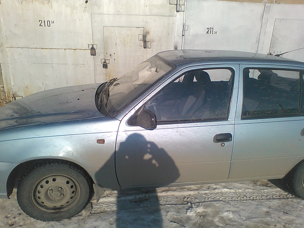 Подержанный Daewoo Nexia, хорошее состояние, бирюзовый , 2011 года выпуска, цена 170 000 руб. в Челябинской области