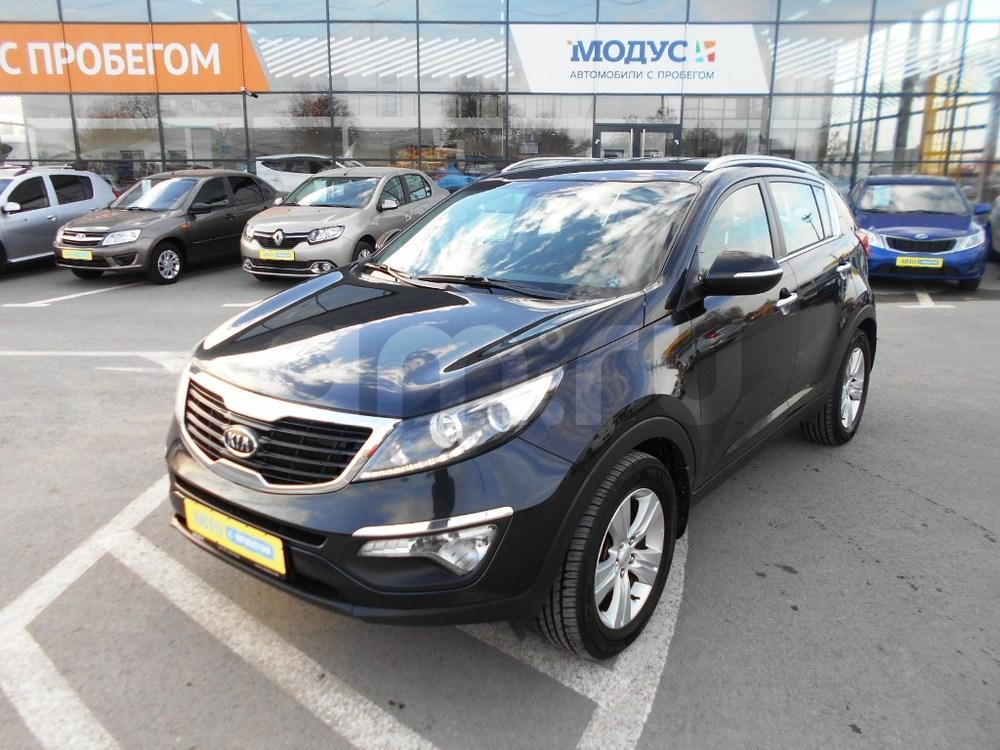 Kia Sportage с пробегом, черный , отличное состояние, 2010 года выпуска, цена 880 000 руб. в автосалоне  ()