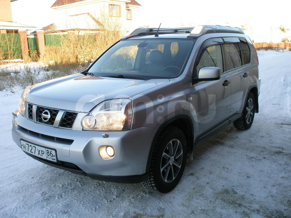 Подержанный Nissan X-Trail, отличное состояние, серебряный металлик, 2008 года выпуска, цена 715 000 руб. в ао. Ханты-Мансийском Автономном округе - Югре