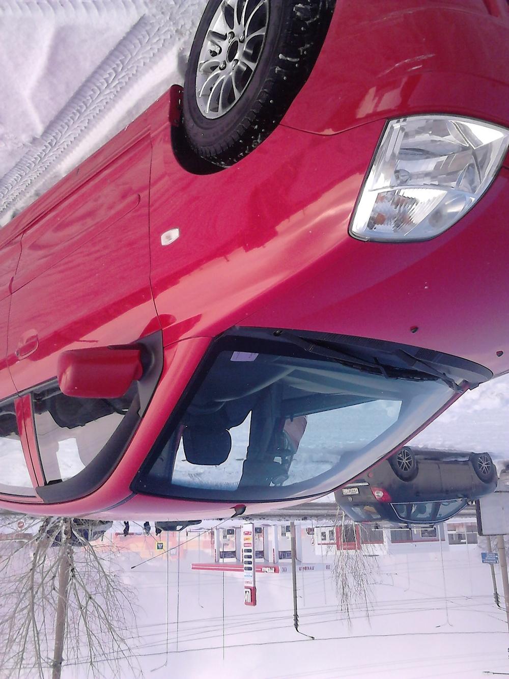 Подержанный Kia Picanto, хорошее состояние, красный металлик, 2006 года выпуска, цена 200 000 руб. в Челябинской области