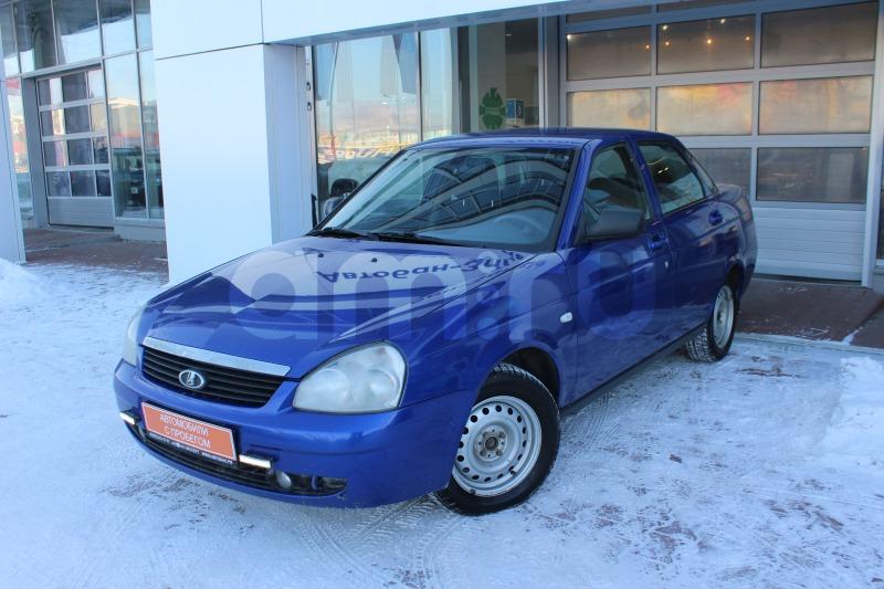 ВАЗ (Lada) Priora с пробегом, синий , отличное состояние, 2011 года выпуска, цена 179 000 руб. в автосалоне  ()