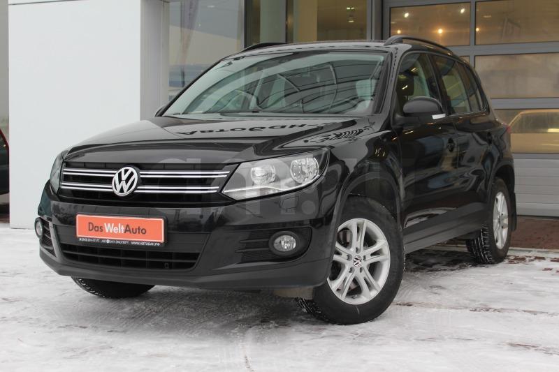 Volkswagen Tiguan с пробегом, черный , отличное состояние, 2012 года выпуска, цена 825 000 руб. в автосалоне  ()