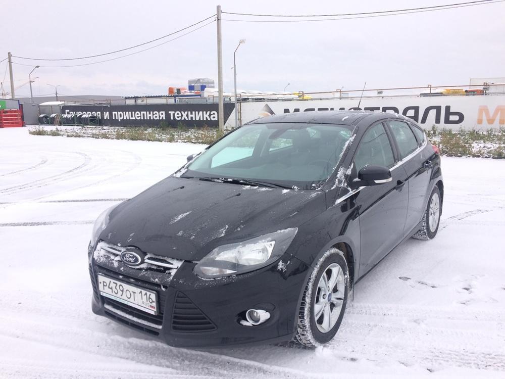 Подержанный Ford Focus, отличное состояние, черный металлик, 2012 года выпуска, цена 550 000 руб. в республике Татарстане