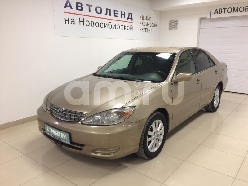 Toyota Camry с пробегом, бежевый , отличное состояние, 2003 года выпуска, цена 363 000 руб. в автосалоне  ()