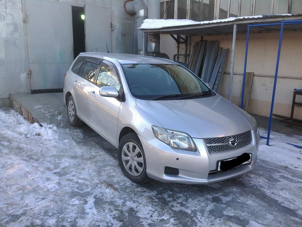 Подержанный Toyota Corolla, хорошее состояние, серебряный , 2007 года выпуска, цена 470 000 руб. в республике Татарстане