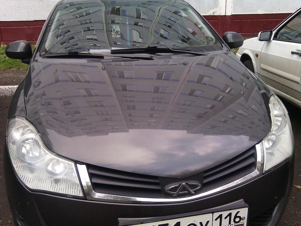 Подержанный Chery Bonus, хорошее состояние, мокрый асфальт металлик, 2012 года выпуска, цена 260 000 руб. в республике Татарстане