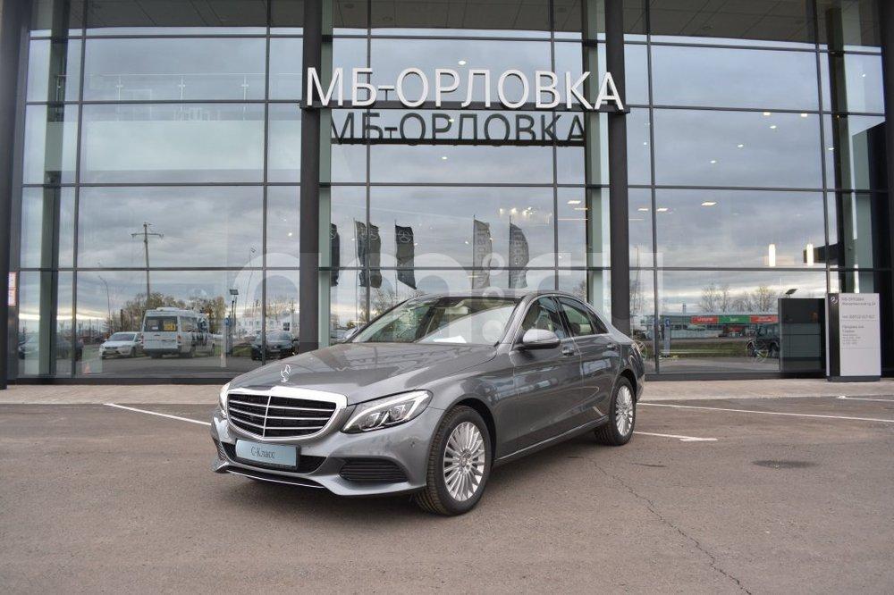 Новый авто Mercedes-Benz C-Класс, серый металлик, 2016 года выпуска, цена 2 450 000 руб. в автосалоне МБ-Орловка (Набережные Челны, тракт Мензелинский, д. 24)