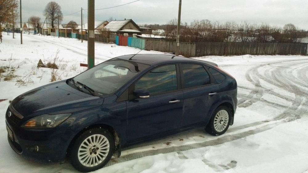 Подержанный Ford Focus, хорошее состояние, синий , 2010 года выпуска, цена 395 000 руб. в республике Татарстане