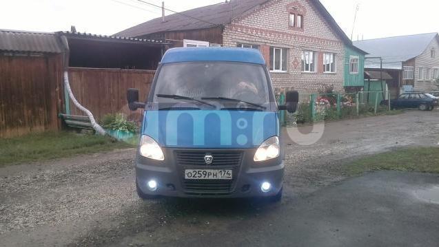 Подержанный ГАЗ Соболь, хорошее состояние, синий , 2012 года выпуска, цена 450 000 руб. в Челябинской области